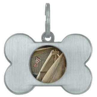 Army Chaplain Pet ID Tag
