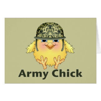 Army Chicks Card