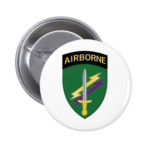 Army Civil Affairs and Psychological Operations Co Button