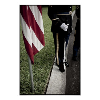 army color guard poster
