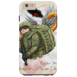 ARMY Combat Medic Service Above Self Tough iPhone 6 Plus Case