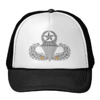 Army Combat Two jump Wings Trucker Hat