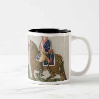 Army Commander and an Officer Two-Tone Coffee Mug