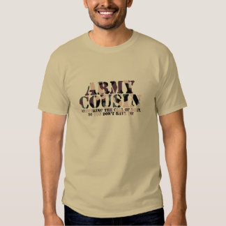 Army Cousin Call of Duty T-shirts