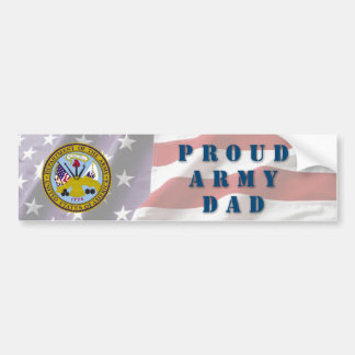 Army Dad Bumper Sticker
