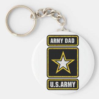Army Dad Keychain