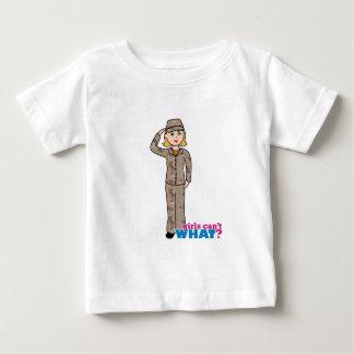 Army Desert Camouflage Girl T-shirt