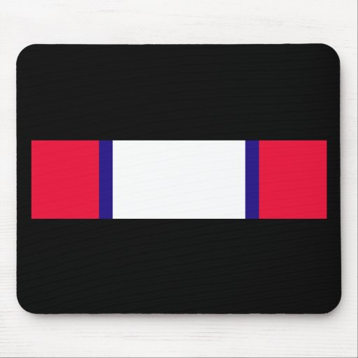 Army Distinguished Service Cross Ribbon Mouse Pad