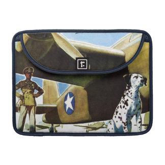 Army Dog MacBook Pro Sleeves