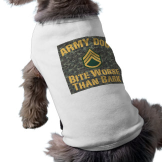 Army Dog Shirt