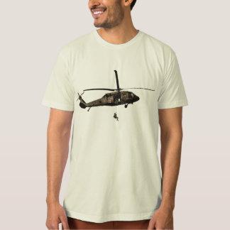 Army DUSTOFF Blackhawk Hoist T-Shirt