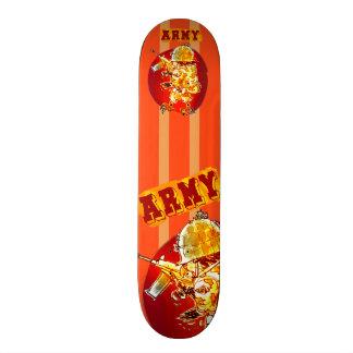 army eagle soldier cartoon style skateboard decks