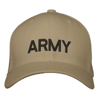 """""""ARMY"""" Embroidered Hat"""