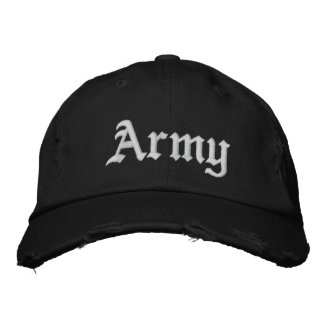 Army Embroidered Baseball Cap