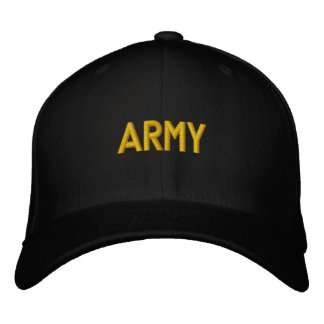 ARMY EMBROIDERED HATS