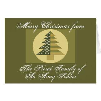 ARMY FAMILY CHRISTMAS CARD