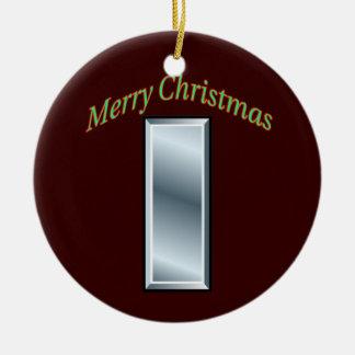 Army First Lieutenant Christmas Ornament
