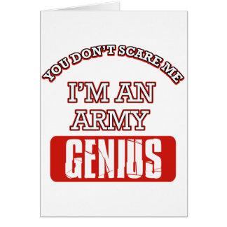 Army genius cards