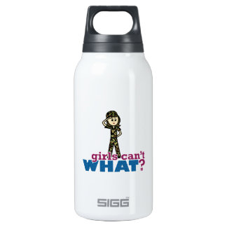 Army Girl SIGG Thermo 0.3L Insulated Bottle
