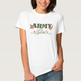 Army Girl T Shirts