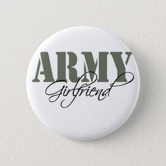 Army Girlfriend 2 Inch Round Button