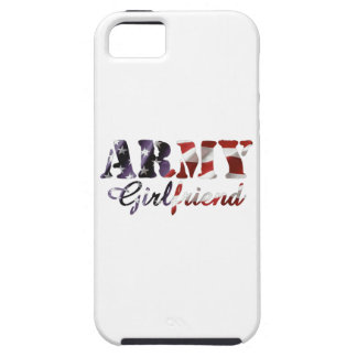 Army Girlfriend American Flag iPhone 5 Covers
