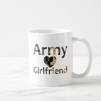 Army Girlfriend Camo Heart Coffee Mug