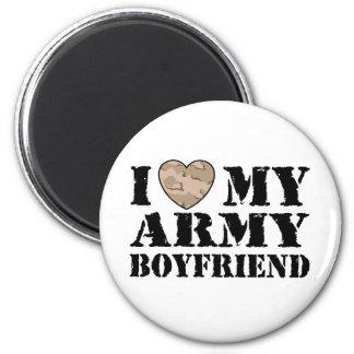 Army Girlfriend Fridge Magnet