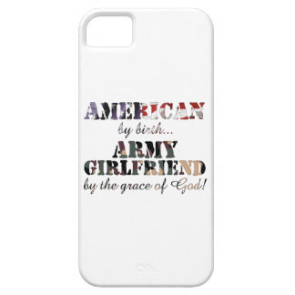 Army Girlfriend Grace of God iPhone 5 Cases