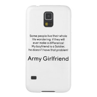 Army Girlfriend No Problem Galaxy S5 Covers