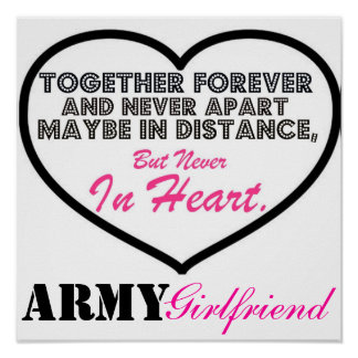 ARMY Girlfriend Poster