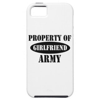 Army Girlfriend Property iPhone 5 Cover