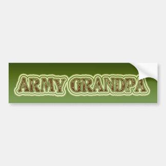Army Grandpa Bumper Sticker
