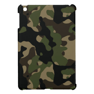 Army Green and Brown Military Camouflage Cover For The iPad Mini