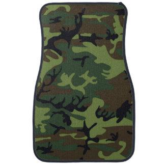 Army Green Camo Car Mat