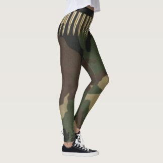 Army Green Camoflauge Leggings