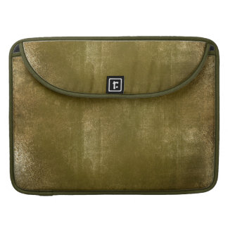 Army Green Distressed Gold Texture Laptop Case 2