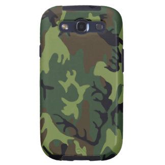 Army Green Military Camouflage Galaxy S3 Cover