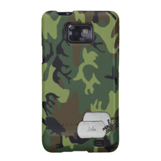 Army Green Military Camouflage Galaxy SII Case