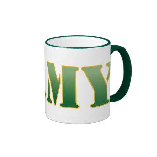 Army - Green Text Coffee Mugs