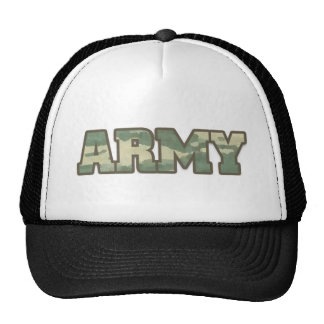 Army in Camo Trucker Hat
