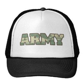 Army in Camo Trucker Hat