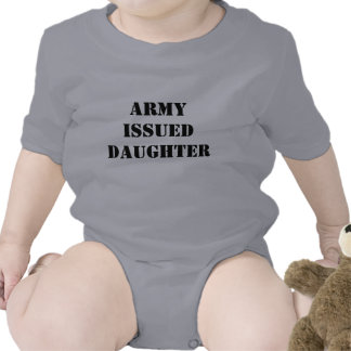 Army Issued Daughter Tshirt