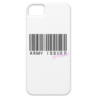 Army Issued Girlfriend iPhone 5 Cover