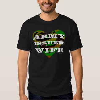 Army Issued Wife Tees