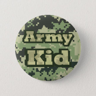 Army Kid 2 Inch Round Button