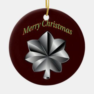 Army Lieutenant Colonel Christmas Ornament
