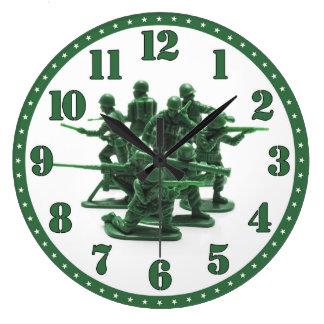 Army Men Clock