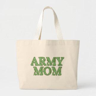 Army Mom Camo Tote Bag