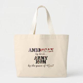 Army Mom Grace of God Bag